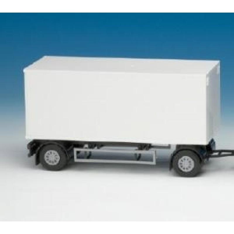 Emek Aanhangwagen 2-As - Wit - EM89001