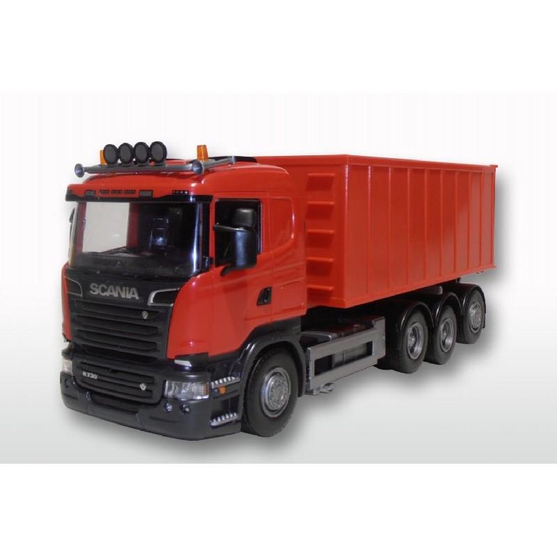 Emek Scania R (1-3) met Afzetcontainer groot - Rood