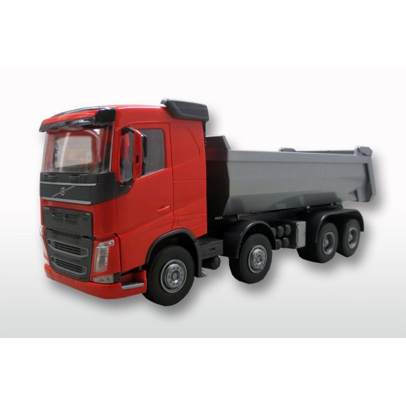 Emek Volvo FH (New) 4-As Kieper - Rood - EM21355