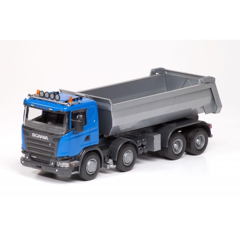 Emek Scania G490 4-As Kieper - Blauw - EM21504