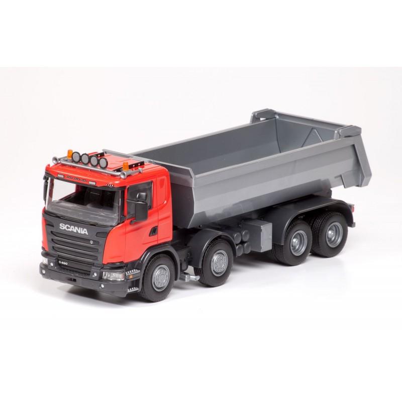 Emek Scania G490 4-As Kieper - Rood - EM21505