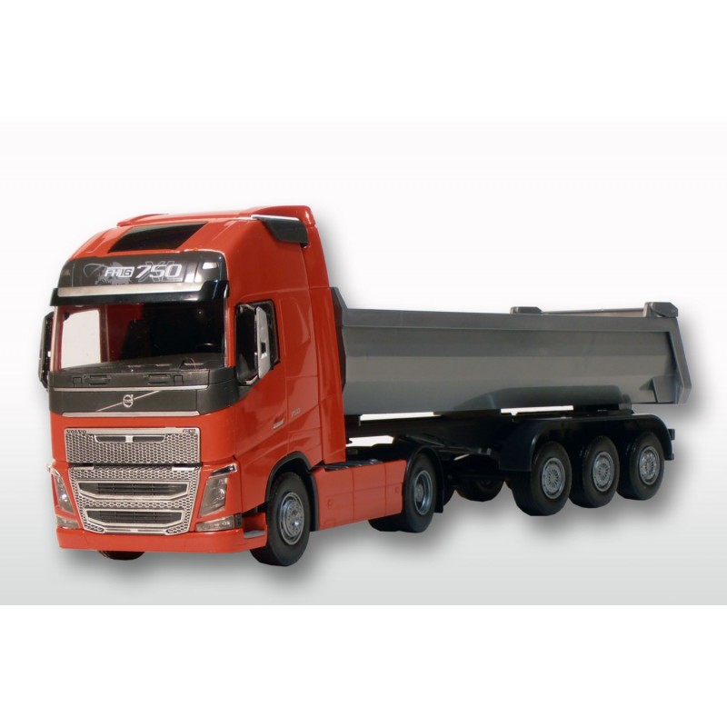 Emek Volvo FH (New) 2-As Rood met Grijze 3-As Kieper - EM22355